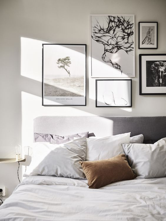 Wall Pictures For Bedroom  7 Dreamy Gallery wall ideas for your bedroom Daily Dream