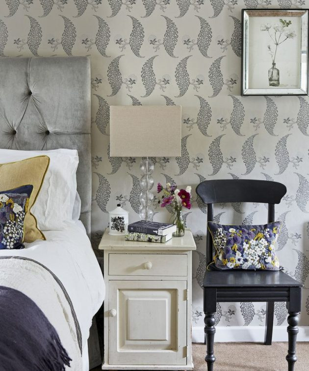 Wall Pictures For Bedroom  Bedroom wallpaper ideas that will make your sleep space