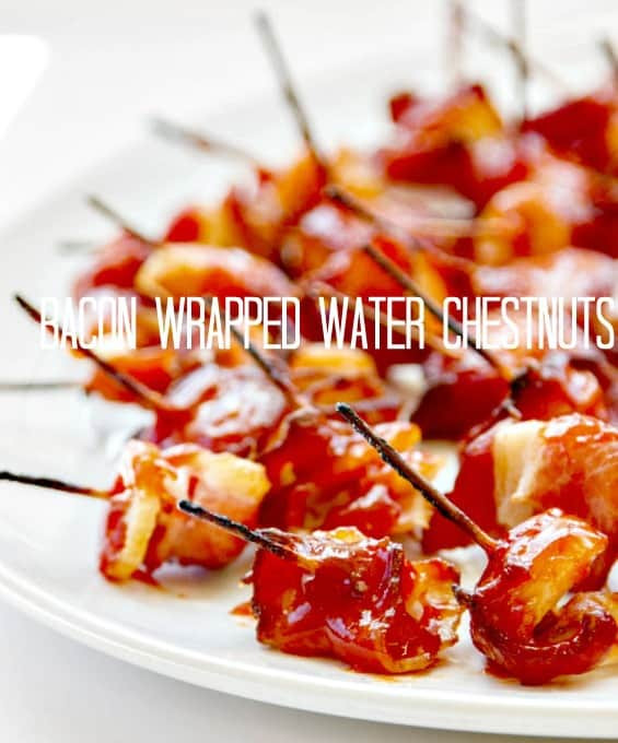 Water Chestnuts And Bacon Appetizers  Bacon Wrapped Water Chestnuts Rumaki • The Wicked Noodle