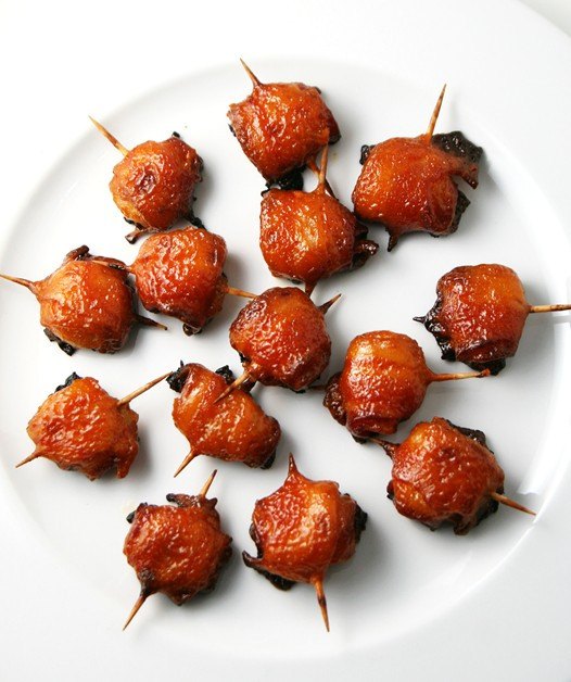 Water Chestnuts And Bacon Appetizers  Appetizer Bacon Wrapped Water Chestnuts Recipe