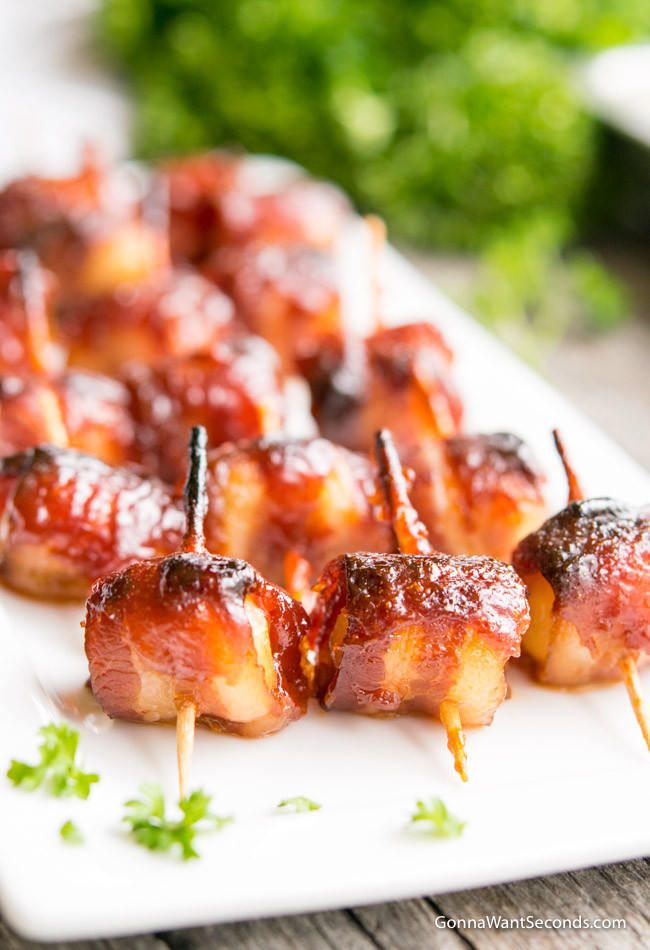 Water Chestnuts And Bacon Appetizers  Bacon Wrapped Water Chestnuts Gonna Want Seconds