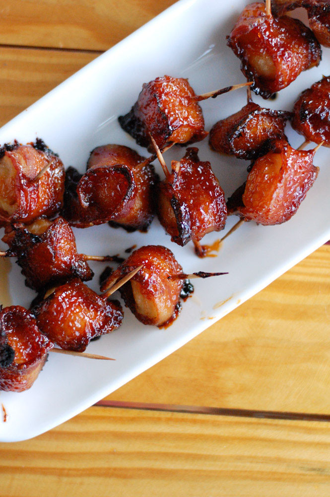 Water Chestnuts And Bacon Appetizers  Bacon wrapped water chestnuts Food Lovin Family