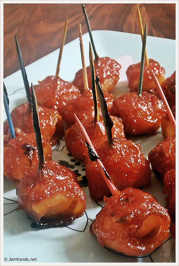Water Chestnuts And Bacon Appetizers  Holiday Appetizer – Bacon Wrapped Water Chestnuts