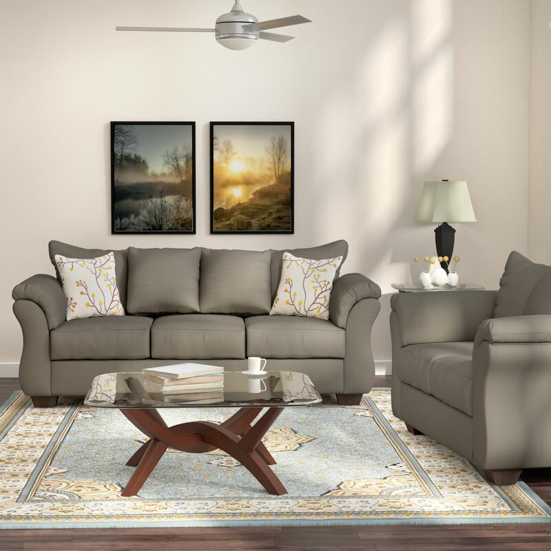 Wayfair Living Room Tables  Andover Mills Chisolm 2 Piece Living Room Set & Reviews