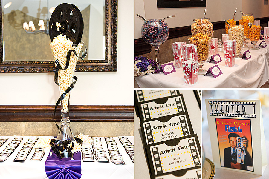 Wedding Themed Movies  Movie Themed Wedding Ideas