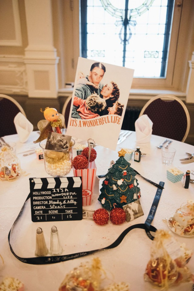 Wedding Themed Movies  Movie Themed Cinema Wedding in Scotland · Rock n Roll Bride