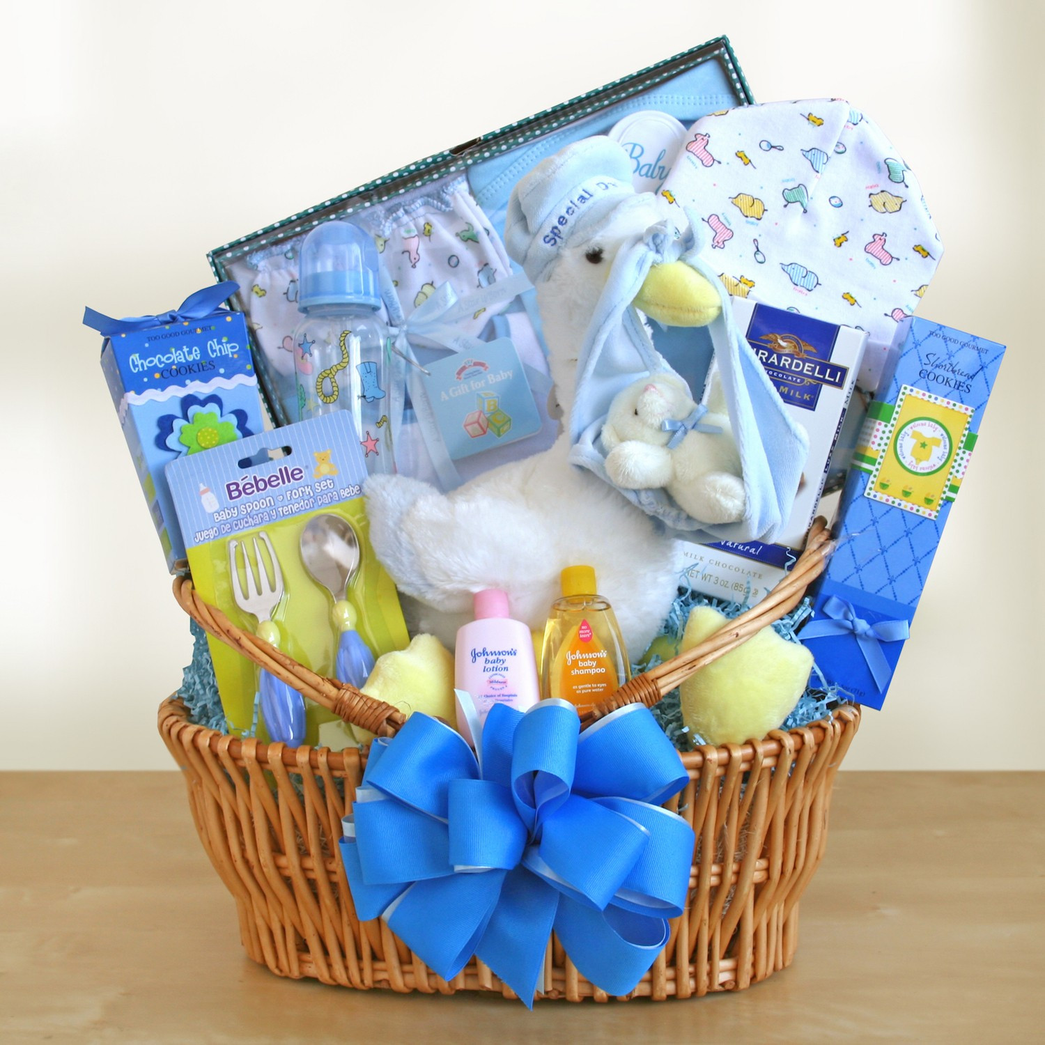 Welcome Baby Gift Ideas  Wel e Baby Boy Gift Basket Gift Baskets Plus