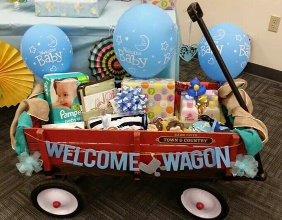 Welcome Baby Gift Ideas  Baby Shower Wel e Wagon
