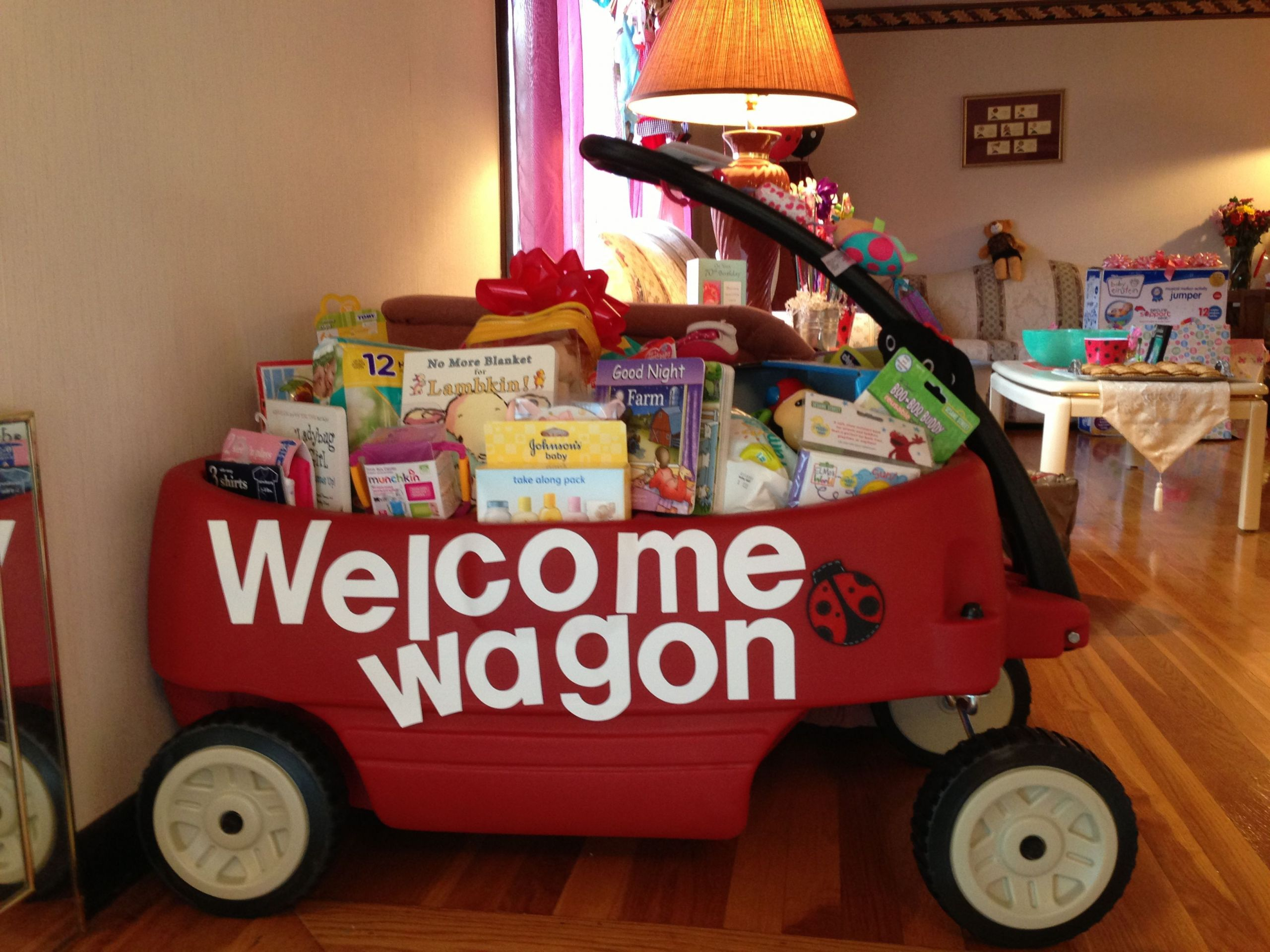 Welcome Baby Gift Ideas  Wel e Wagon Baby Shower Gift