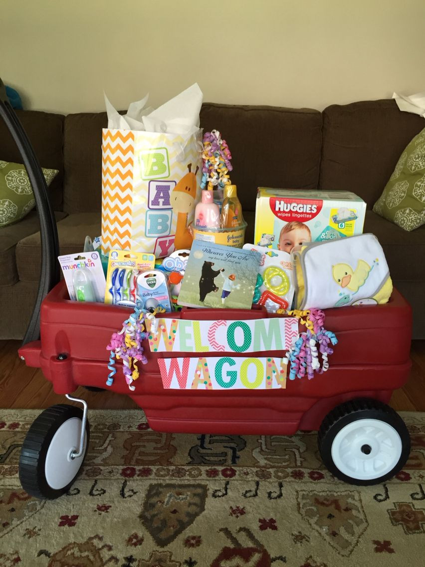 Welcome Baby Gift Ideas  Best shower t Wel e wagon