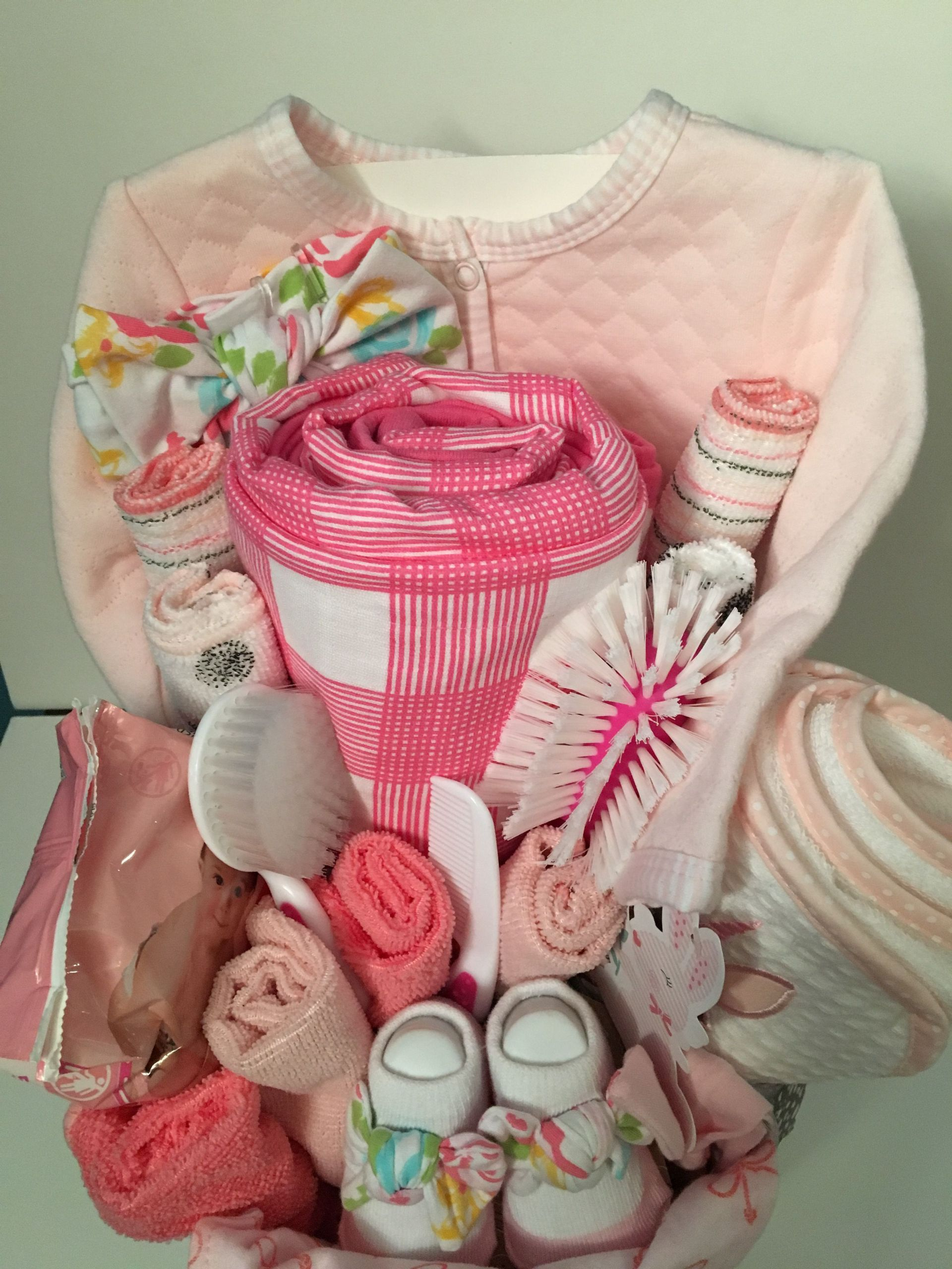 Welcome Baby Gift Ideas  Pin by Avila s Creations on Baby Gift Basket Ideas