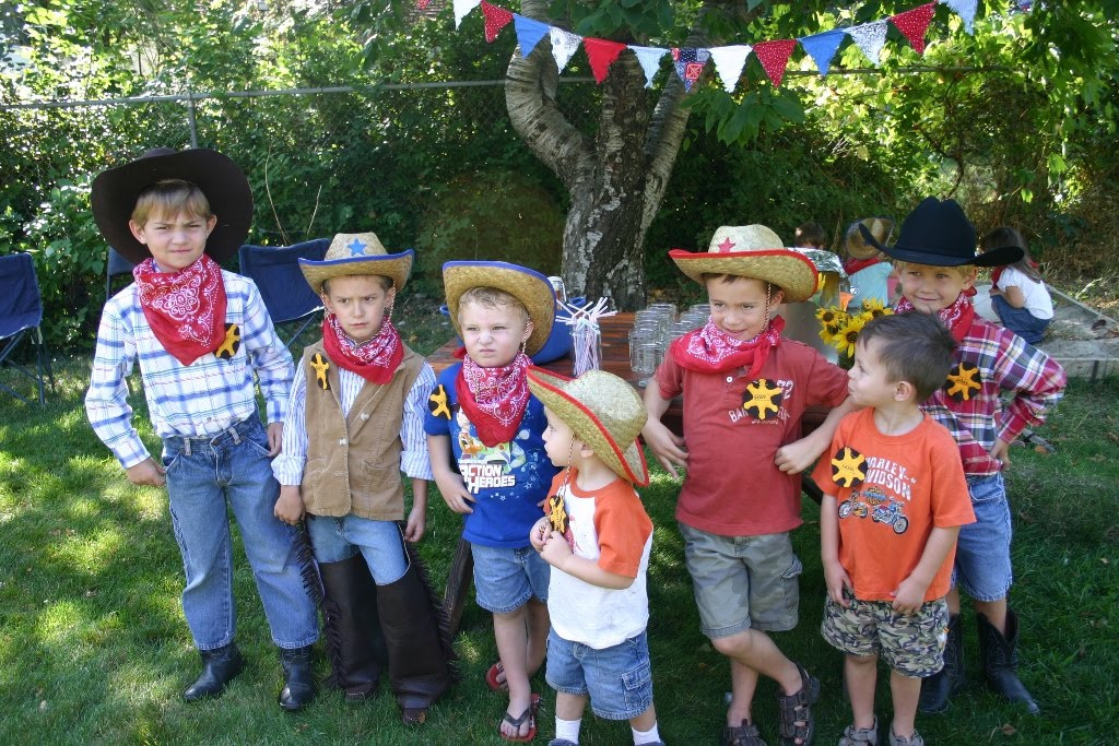 Western Theme Kids Party  Bonne Nouvelle Homemade Kids Cowboy Birthday Party