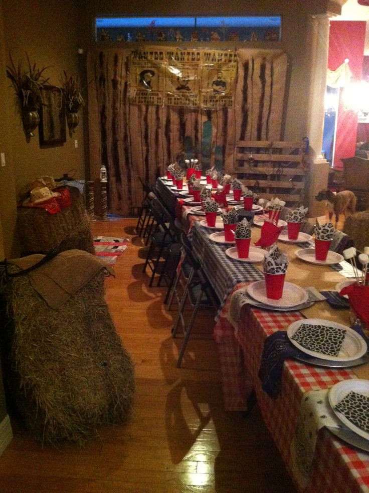 Western Theme Kids Party  179 best images about Kids Party Western on Pinterest