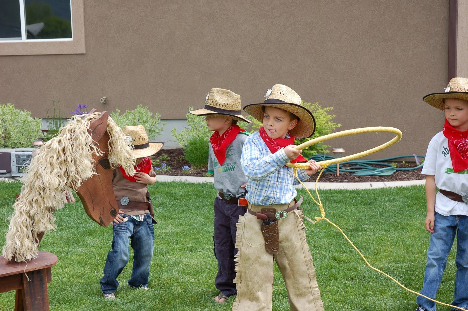 Western Theme Kids Party  Rodeo game Western Bible Study