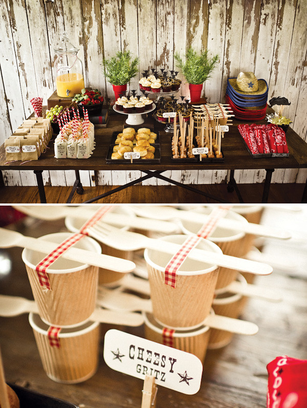 Western Theme Kids Party  Old Western Cowboy Party Hostess with the Mostess