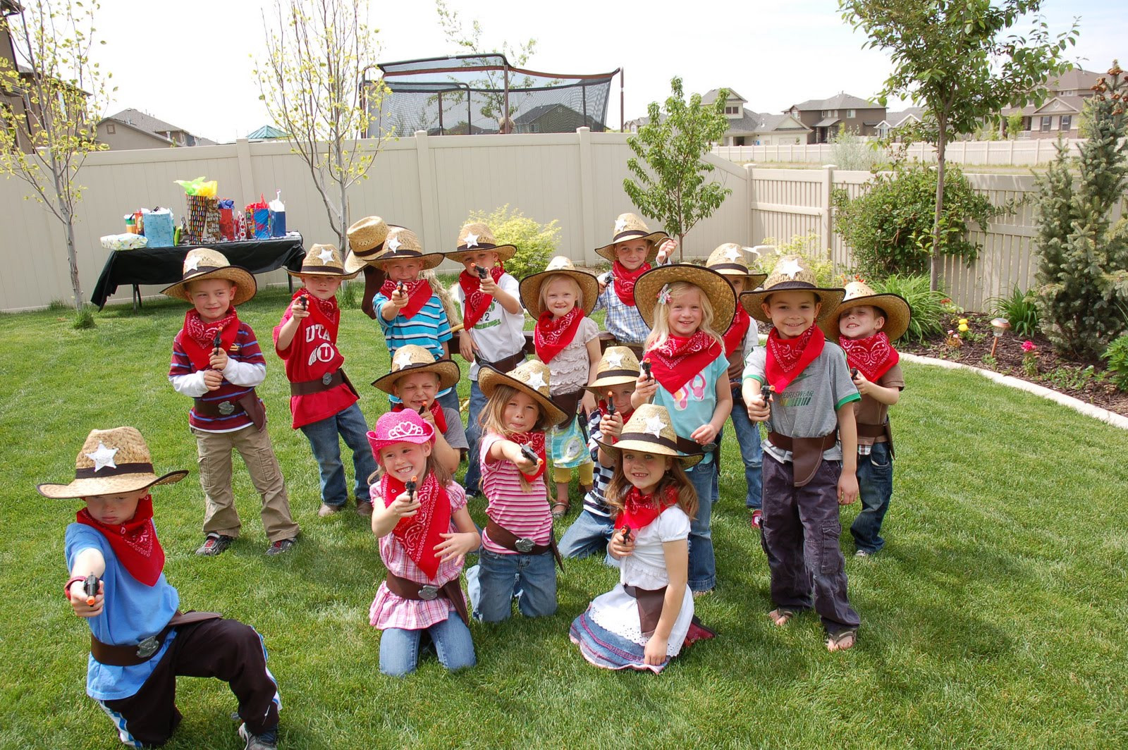 Western Theme Kids Party  restlessrisa Cowboy Party Games & Presents