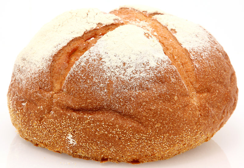 White Mountain Bread  White Mountain Bread stock image Image of view flour