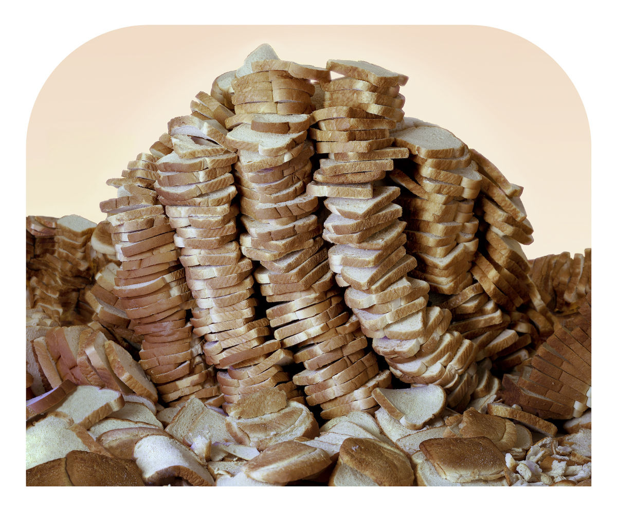 White Mountain Bread  Iconic American Landscape s Recreated with Junk Food
