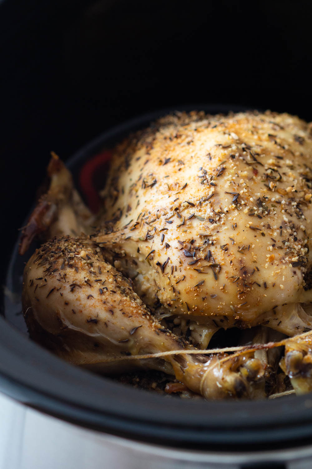 Whole Chicken Crock Pot  Crock Pot Whole Chicken Green Healthy Cooking