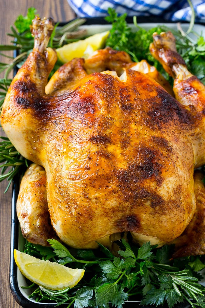 Whole Chicken Crock Pot  Slow Cooker Whole Chicken Dinner at the Zoo