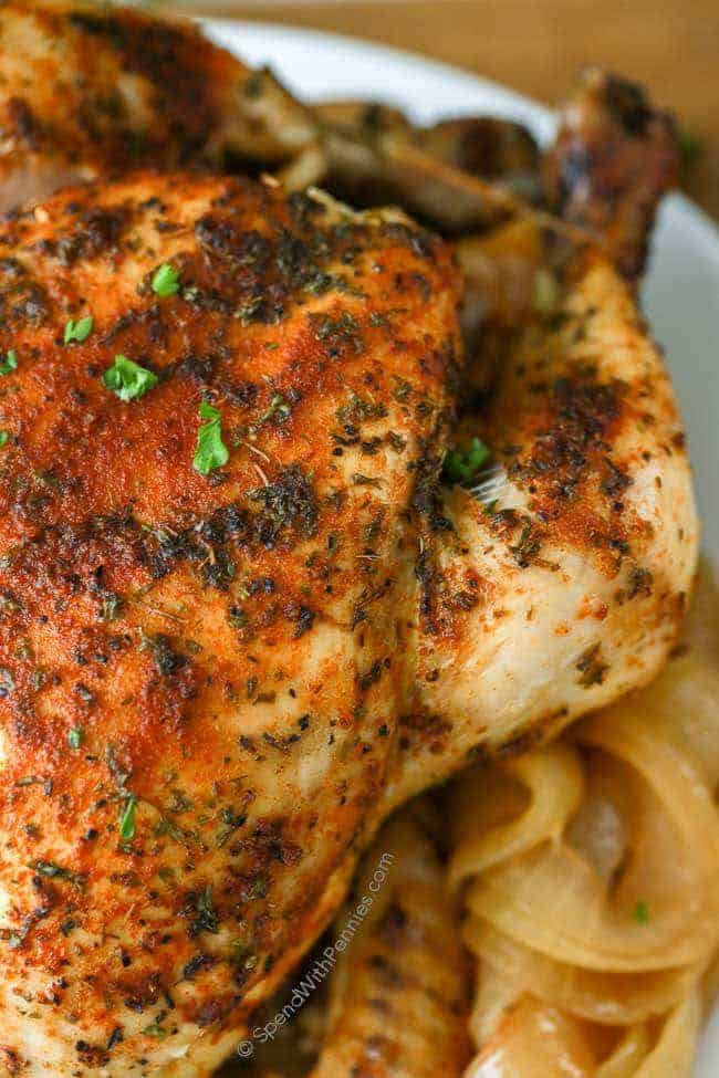 Whole Chicken Crock Pot  Slow Cooker Whole Chicken & Gravy Spend With Pennies
