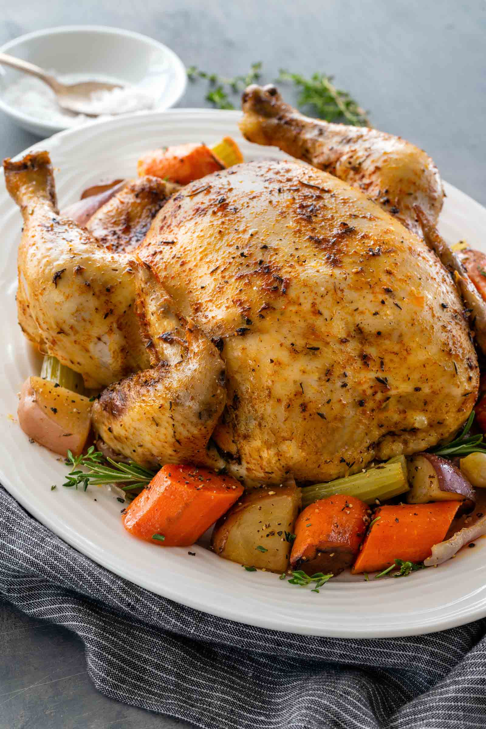 Whole Chicken In A Slow Cooker  Recipes Cafe Delites