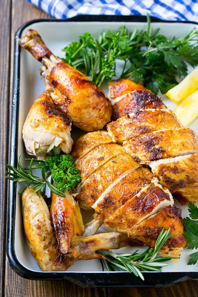 Whole Chicken In A Slow Cooker  Slow Cooker Whole Chicken Dinner at the Zoo