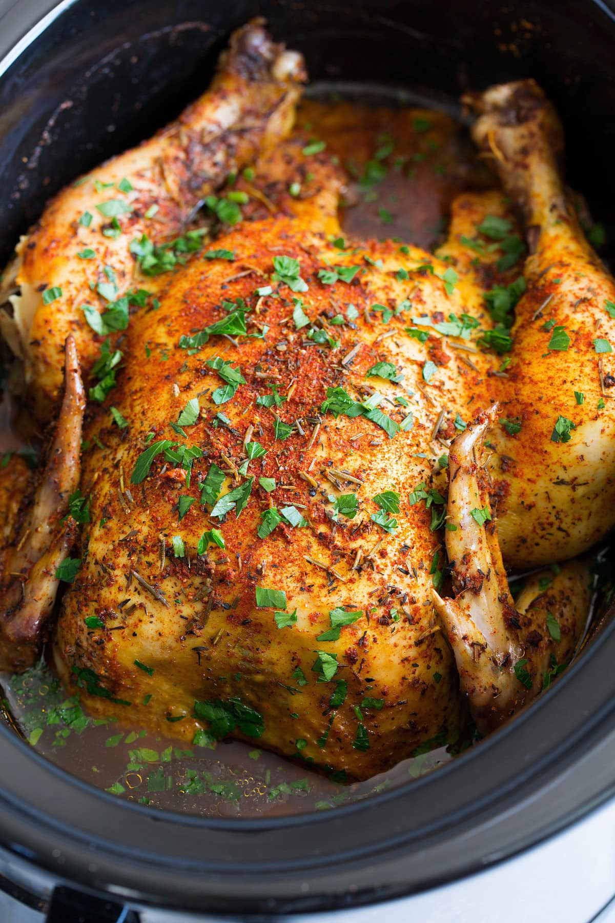 Whole Chicken In A Slow Cooker  Slow Cooker Chicken Whole Rotisserie Style Cooking Classy