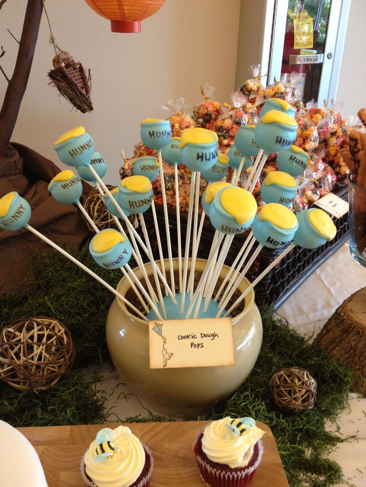 Winnie The Pooh Baby Shower Decorations Party City  13 best Classic Winnie the Pooh Baby Shower images on