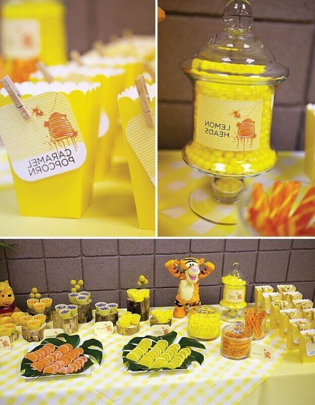 Winnie The Pooh Baby Shower Decorations Party City  Winnie the Pooh Baby Shower Ideas and Games