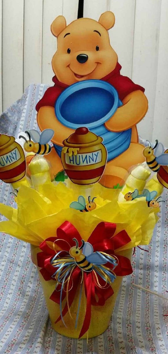 Winnie The Pooh Baby Shower Decorations Party City  Extra Winnie the Pooh Centerpiece with by SOUTHFLOWER