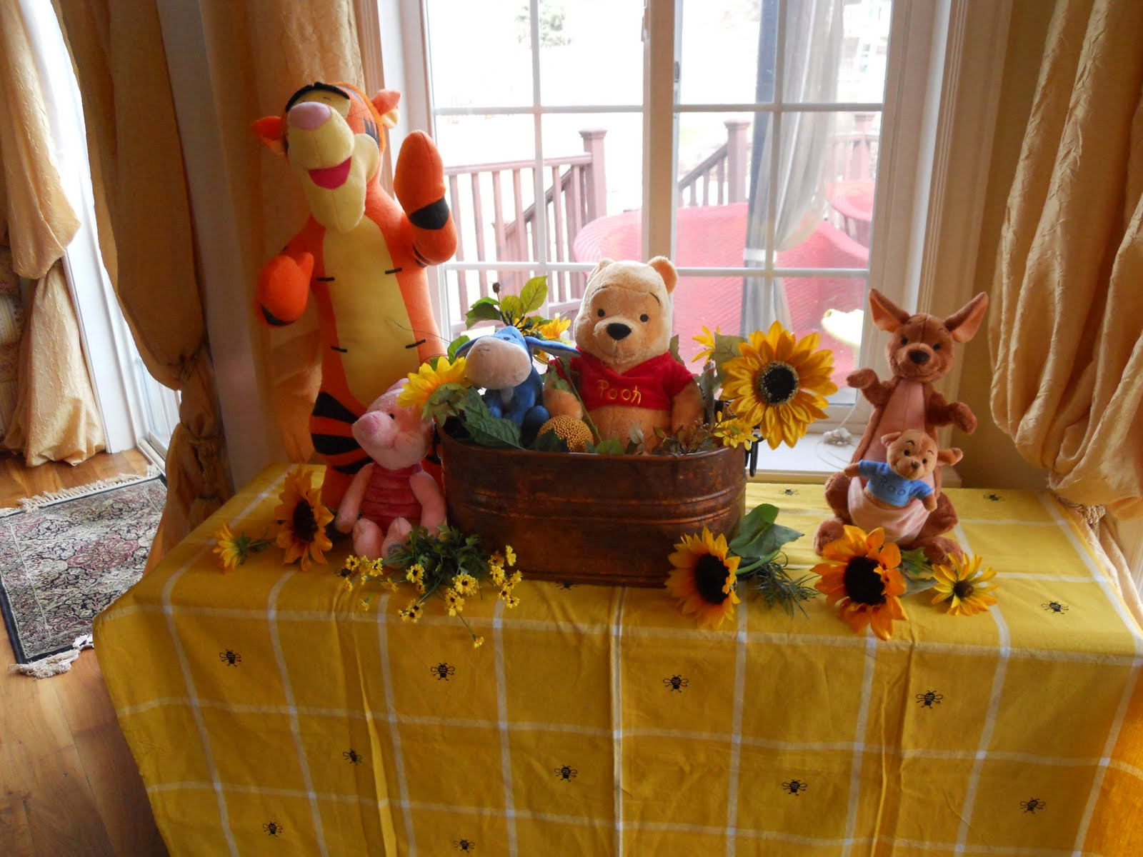 Winnie The Pooh Baby Shower Decorations Party City  Winnie the Pooh Parties