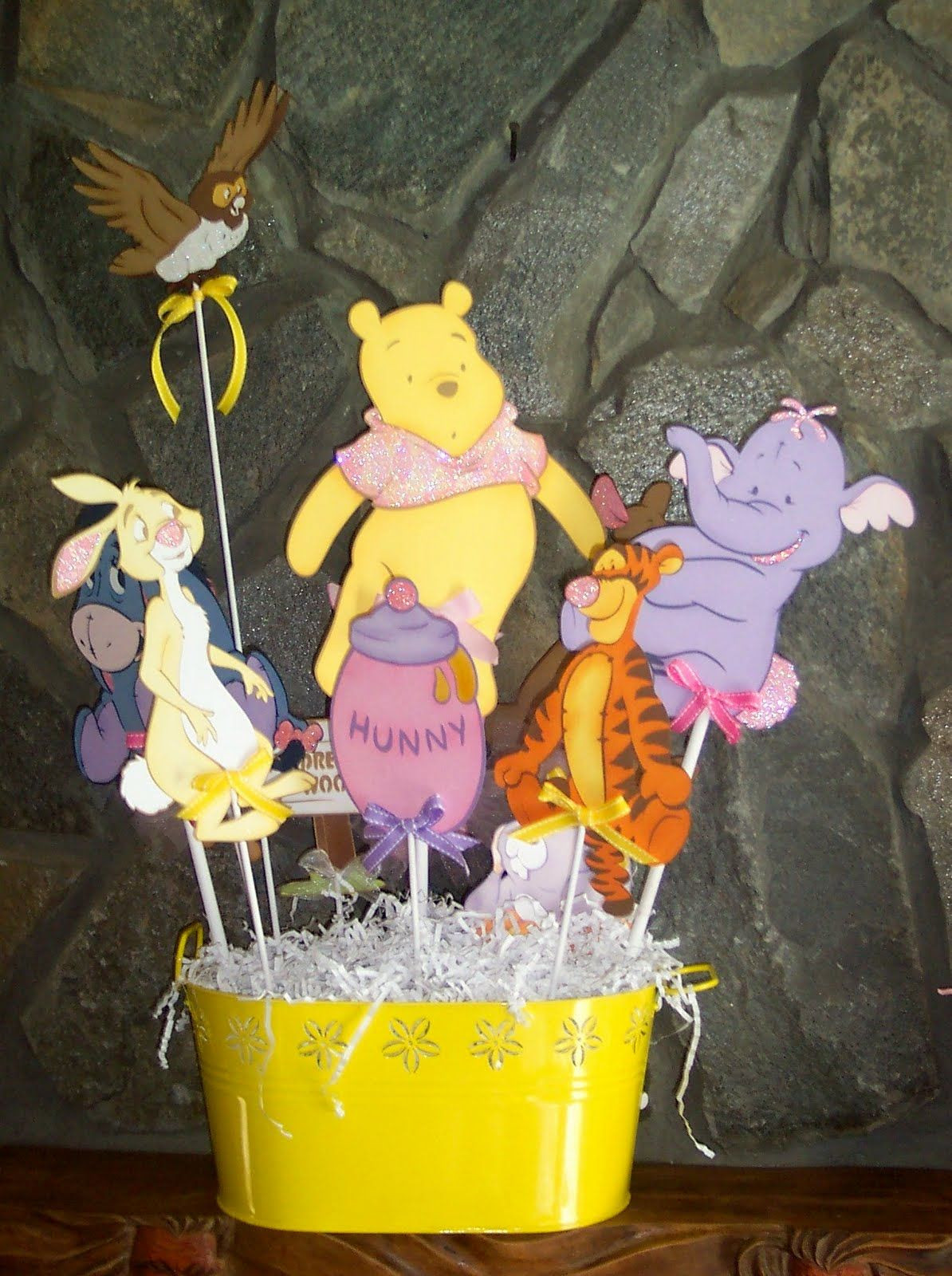 Winnie The Pooh Baby Shower Decorations Party City  winnie the pooh baby shower classy centerpieces stuff