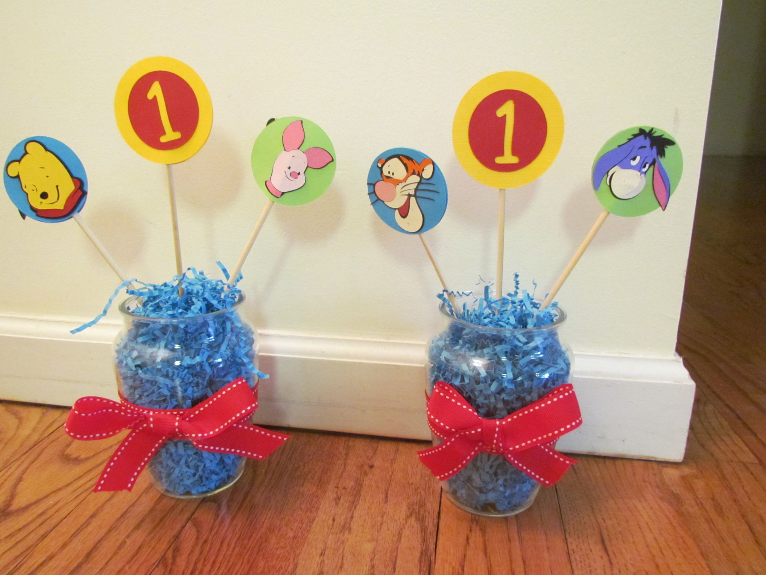 Winnie The Pooh Baby Shower Decorations Party City  Winnie The Pooh Party Decorations