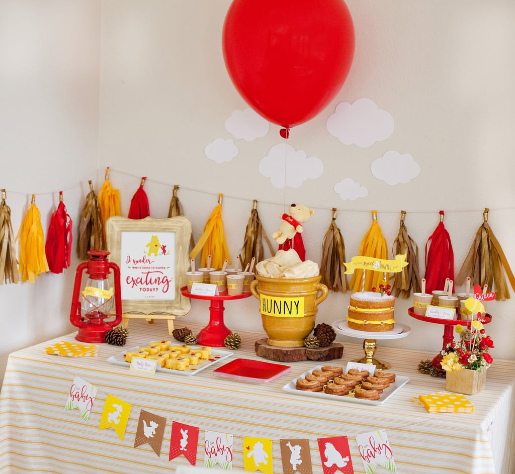 Winnie The Pooh Baby Shower Decorations Party City  Pretty Winnie the Pooh Baby Shower Ideas