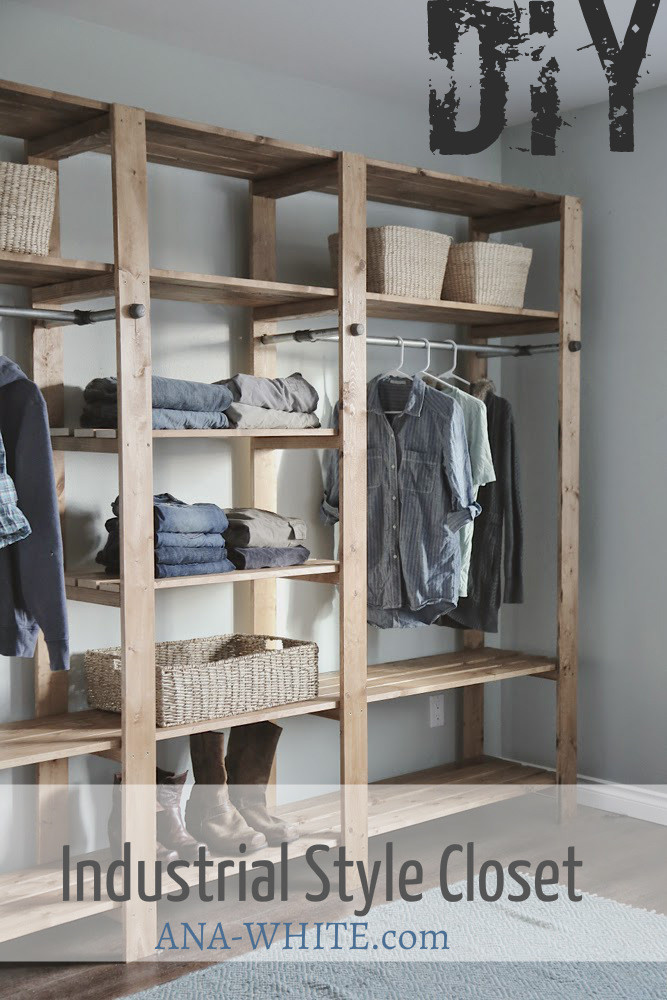 Wood Closet Systems DIY  Bonie Woodworking Useful Scrap wood projects home depot