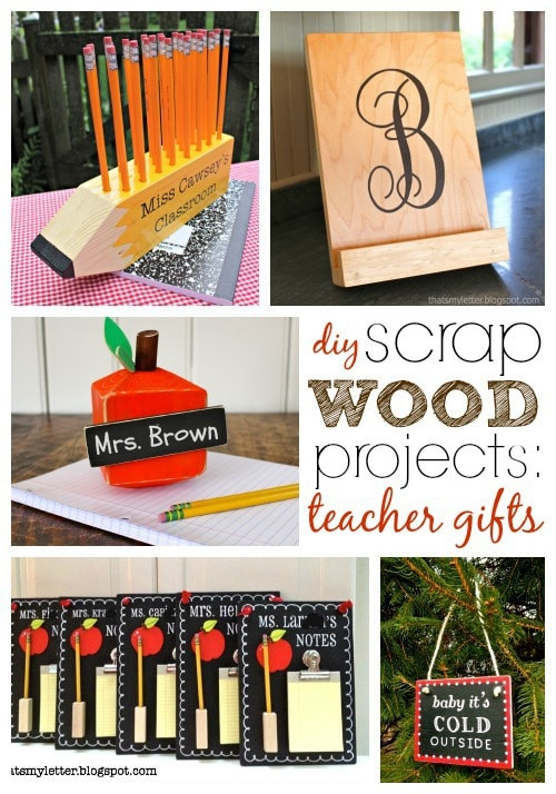 """Wood Crafting Gifts  """"S"""" is Scrap Wood Projects Teacher Gifts Jaime Costiglio"""