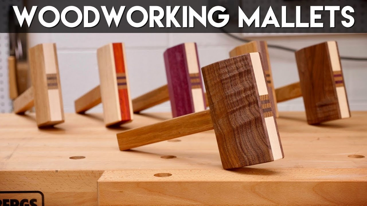Woodwork DIY Network  Make A Mallet From Scrap Wood