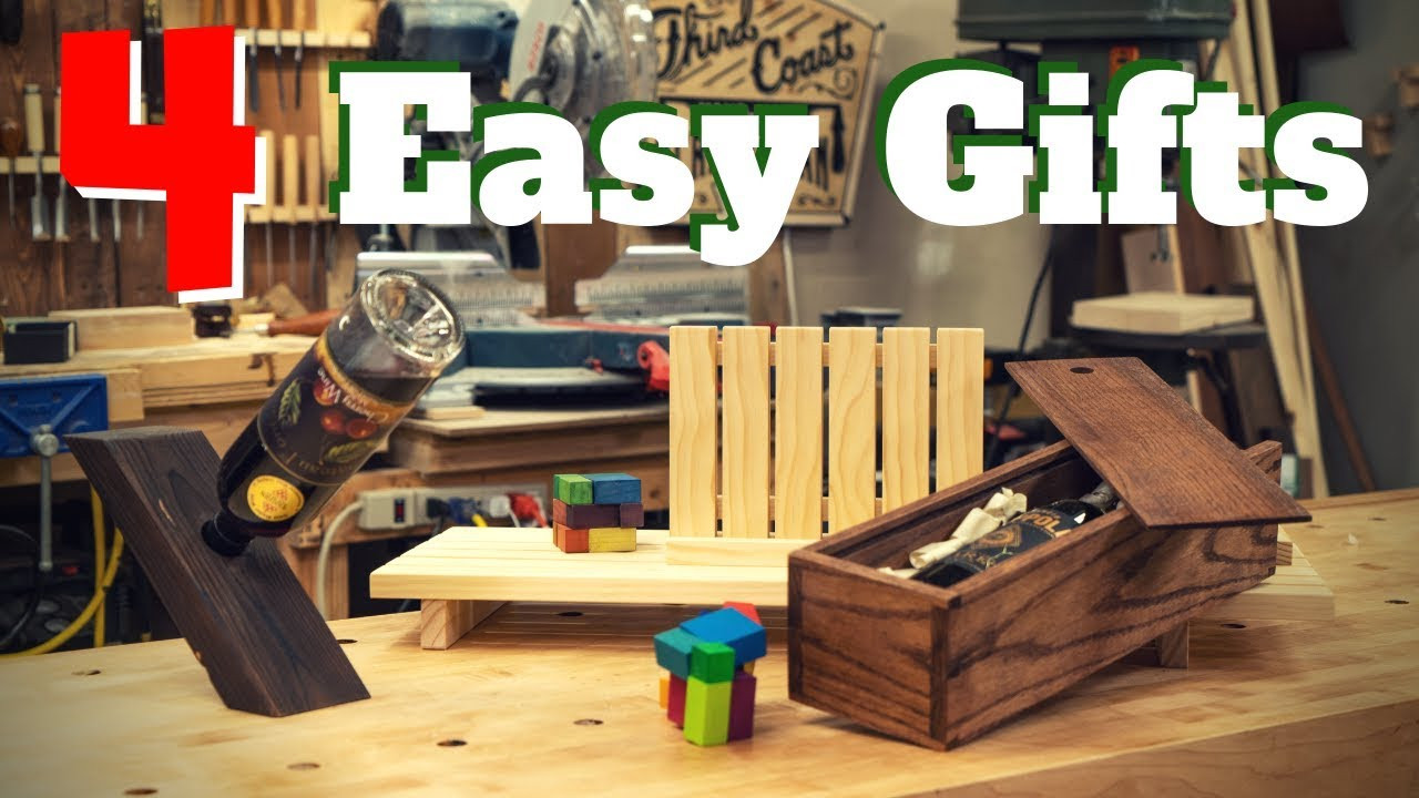 Woodwork DIY Network  4 Easy DIY Woodworking Gift Projects