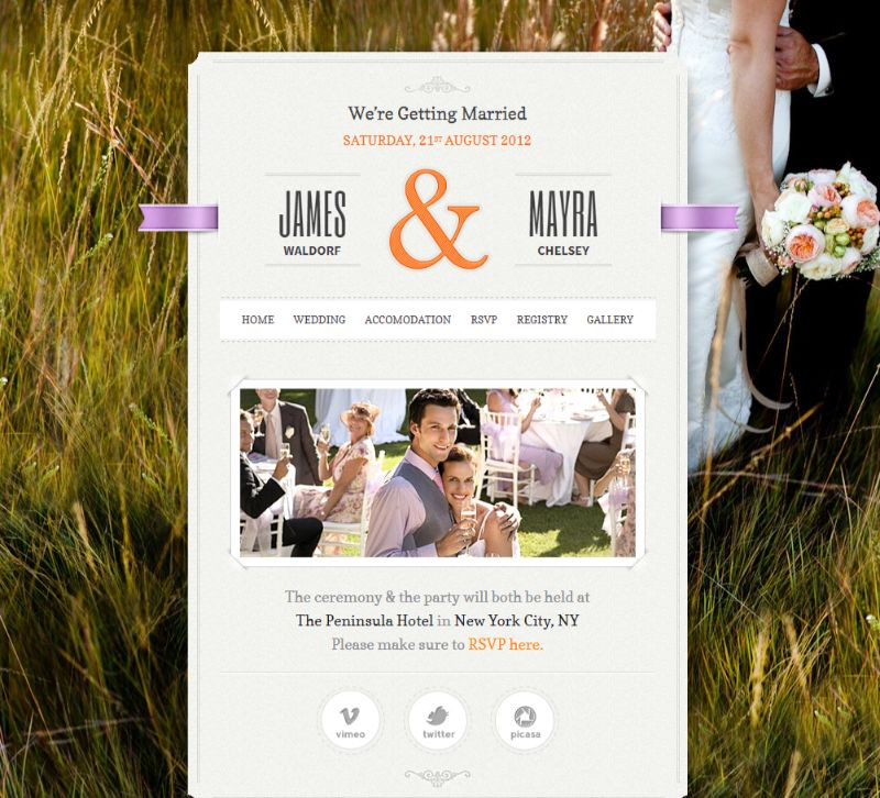 Wp Wedding Themes  13 Best WordPress Wedding Themes for Marriage Events